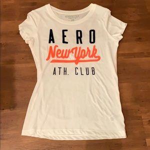White Aero NY shirt
